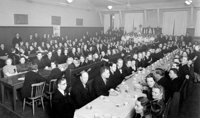 Lucia-Fest des Arbeiter-Esperanto-Vereins Stockholm, 1935