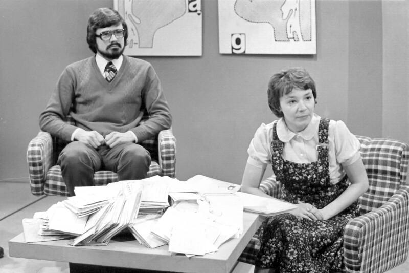 Esperanto-Sendung im Polnischen Fernsehen, Danzig 1975