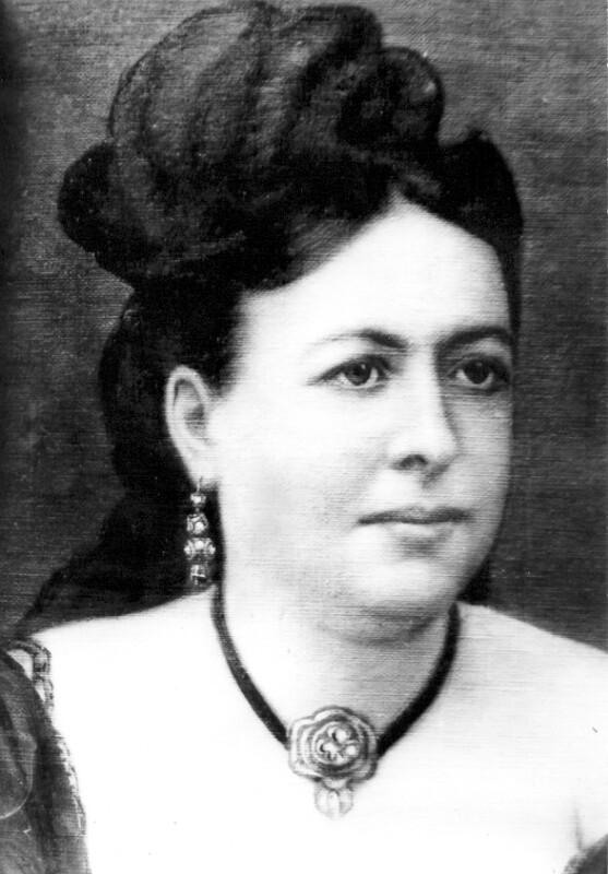 Rozalia Bálint, um 1875