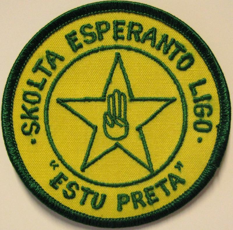 Abzeichen: Skolta Esperanto Ligo