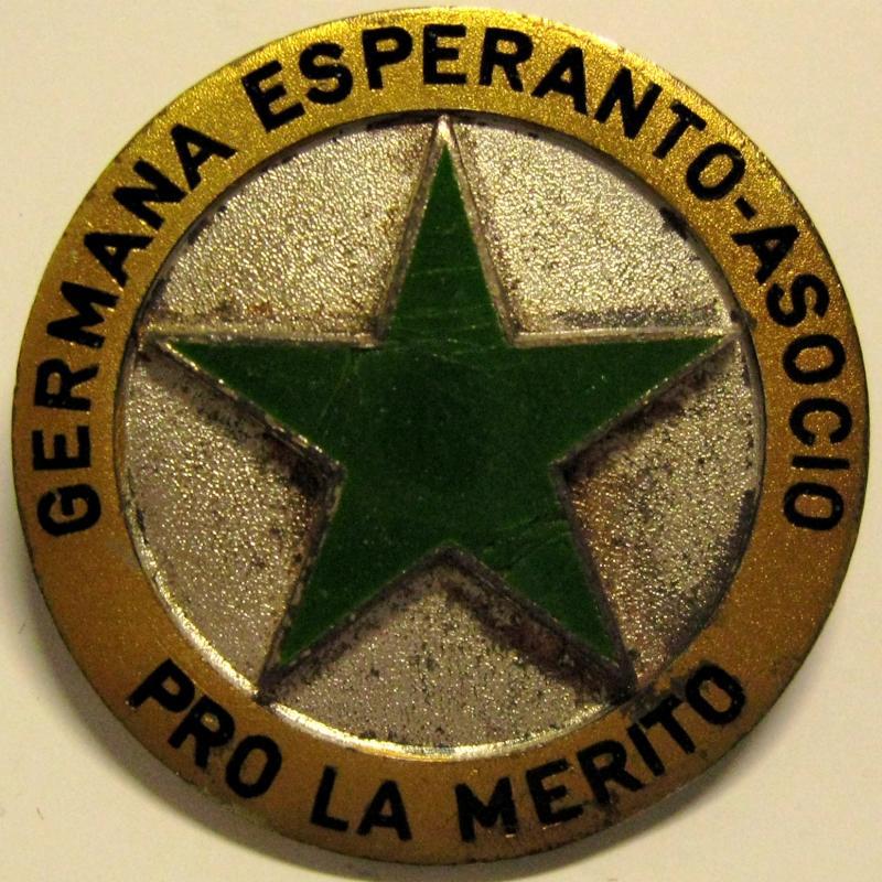 Abzeichen: Germana Esperanto-Asocio, Mainz 1950