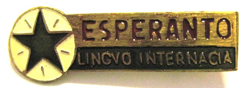 Abzeichen: Esperanto Lingvo Internacia