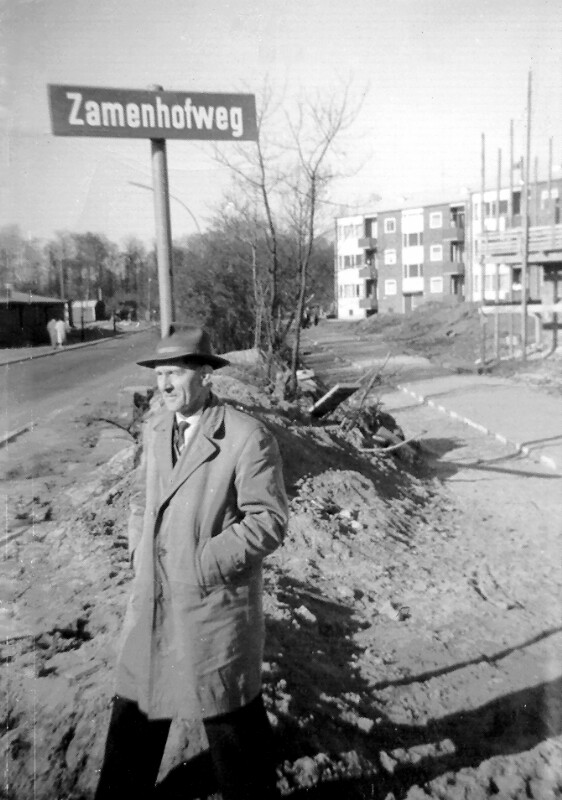 Zamenhofweg, Hamburg-Berne 1961
