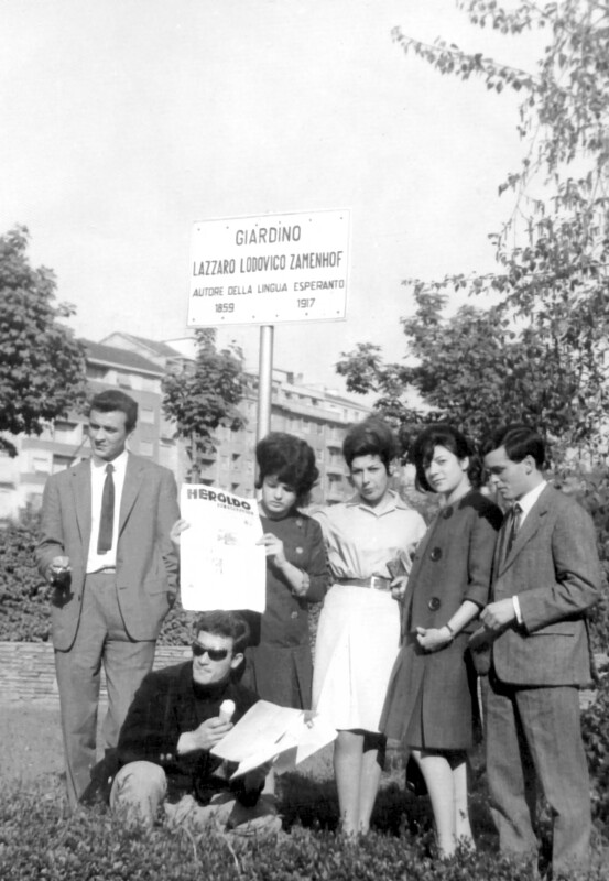 """Giardino Lazzaro Lodovico Zamenhof"", Turin 1963"