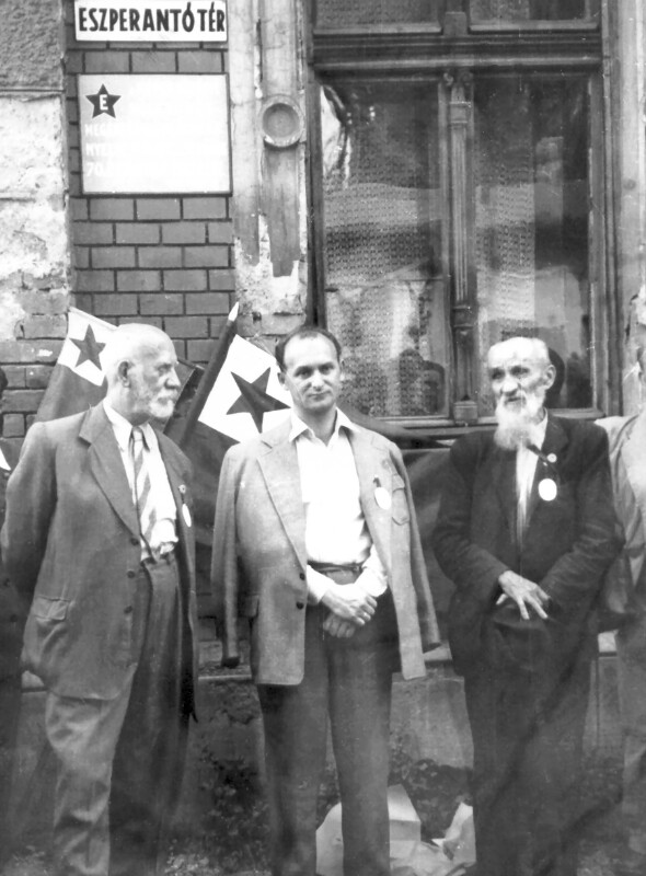 "Einweihung des ""Eszperantó tér"", Miskolcz 1957"