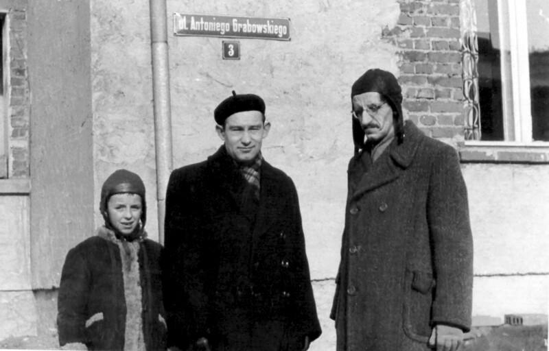 Ulica Antoniego Grabowskiego, Torun 1961