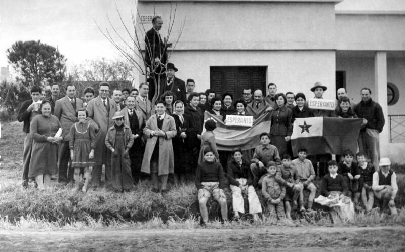 "Einweihungsfeier der ""Calle Esperanto"", Venado Tuerto 1955"