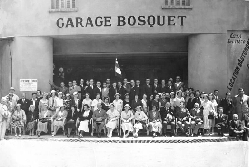 """Einweihung der """"Rue du Docteur Zamenhof"""", Cannes 1933"""