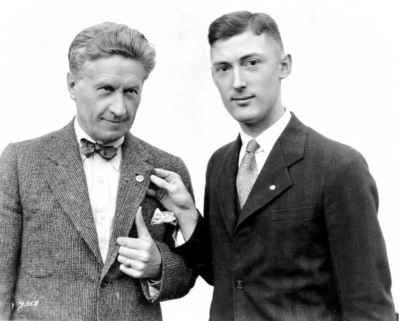 Fred Niblo und Joseph R. Scherer, Los Angeles um 1930