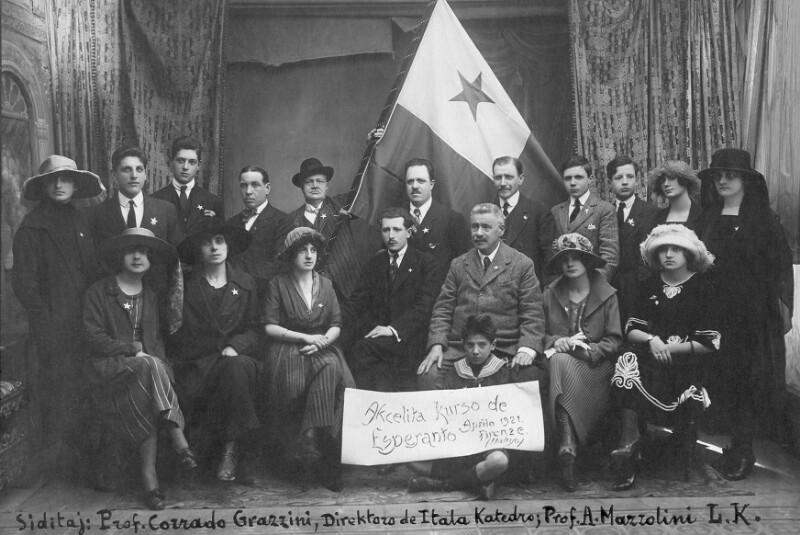 Esperanto-Kurs, Florenz 1921