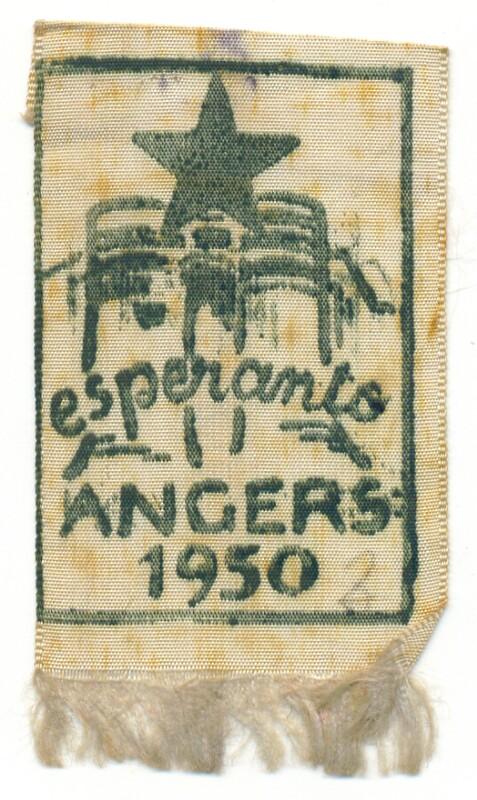 Abzeichen: Esperanto Angers 1950