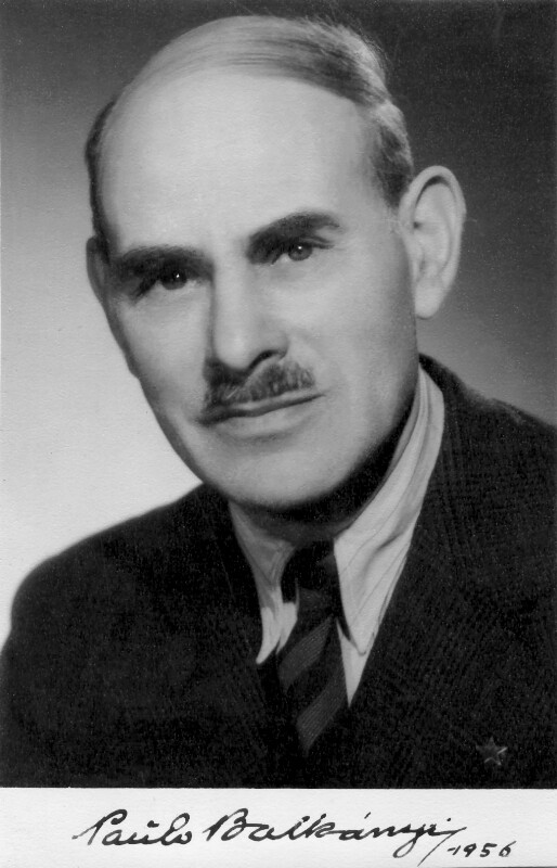 Pál Balkanyi, 1956