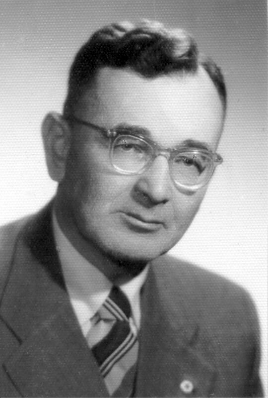 Isaj Dratwer, um 1955