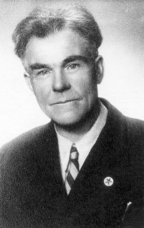 Ints A. Cace, um 1950