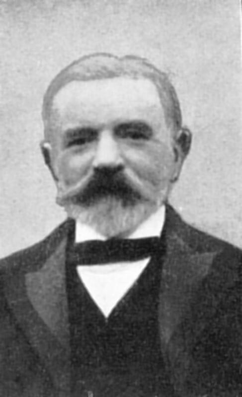 Achille Motteau, London um 1900