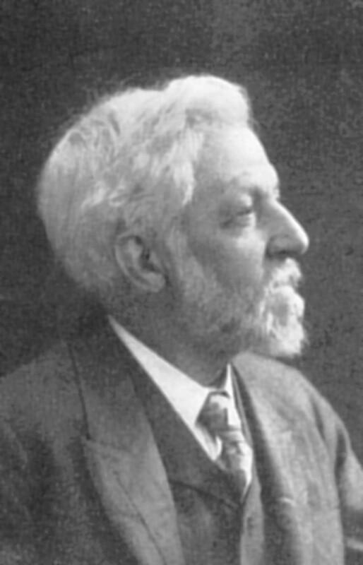 Felix Stone Moscheles, London um 1905