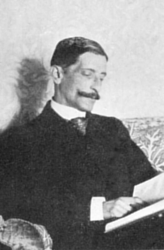 Gaston Moch, Neuilly um 1900