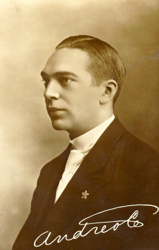 Andreo Cseh, um 1915