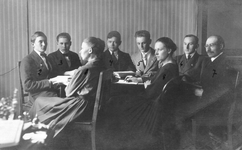 Gruppe estnischer Esperantisten, Tallinn 1923