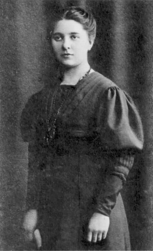 Agnes Wermke, Königsberg um 1910
