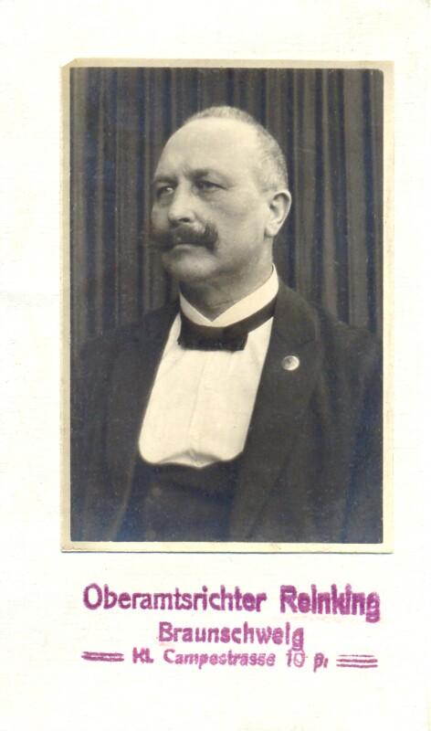 Adolf Reinking, Braunschweig um 1910