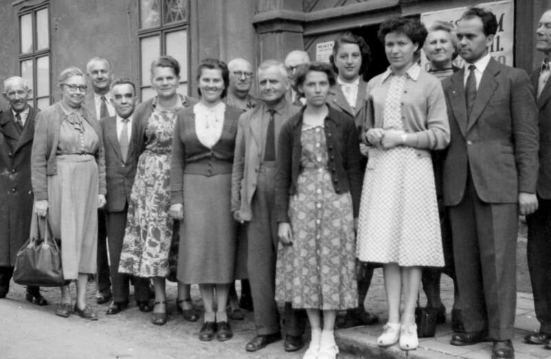 Esperanto-Kurs der Tatra-Werke, Pribor 1956