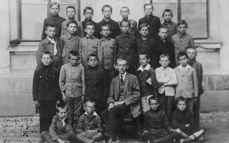 Esperanto-Kurs im Gymnasium, Kolomyja 1926