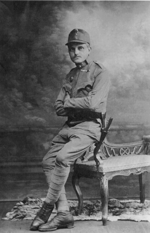 Max Oskar Brodsky, um 1915