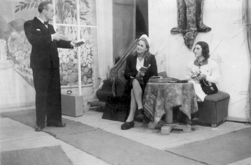 """Esperanto-Komödie """"Posto el Svedujo"""", Nantes 1947"""