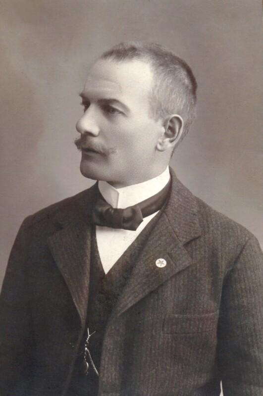 Jakob Hechtl, Franzensbad um 1914