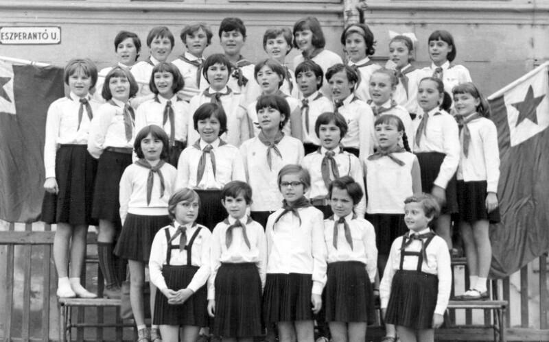 Einweihung der Esperanto utca, Budapest 1966