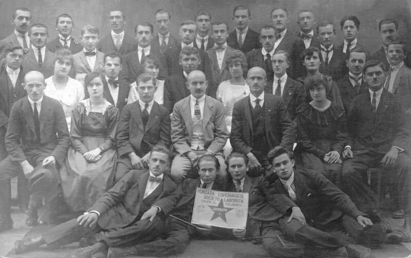 Ungarischer Arbeiter-Esperanto-Verein, Budapest um 1920