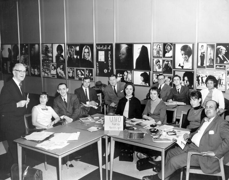 Esperanto-Kurs für UNO-Mitarbeiter, New York 1965