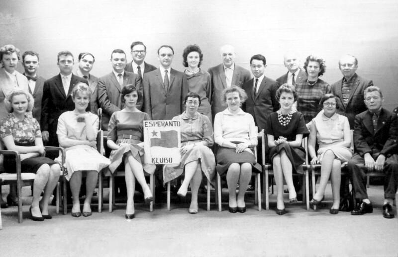 Esperanto-Kurs im UNO-Hauptquartier, New York 1961