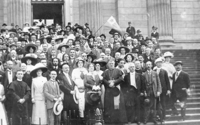 1. Ungarischer Esperanto-Kongress, Budapest 1912