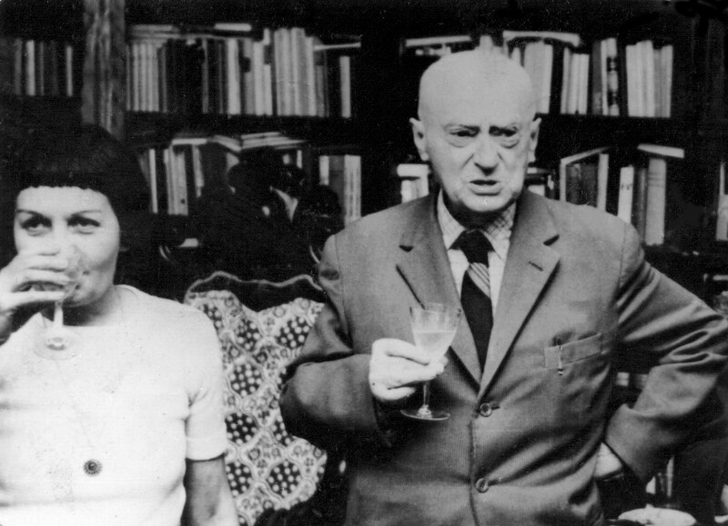 Ada Csiszar und Kalman Kalocsay, Budapest 1975