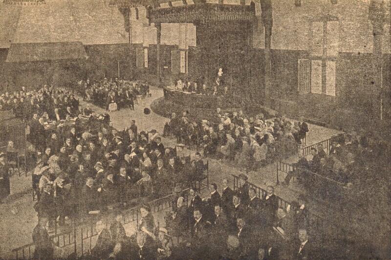 Ansichtskarte: XII Kongreso Esperanto en Hago, 8-15. aŭg. 1920
