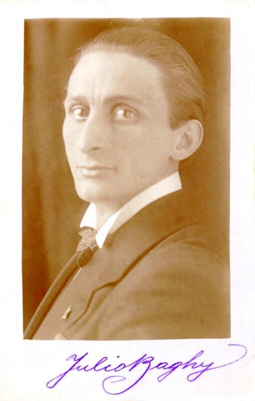Julio Baghy, um 1920