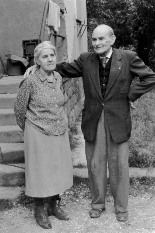 Ehepaar Balkanyi, um 1970