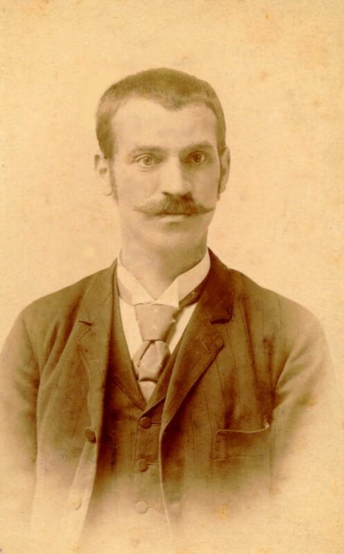 Kálmán Kalocsay sen., um 1890