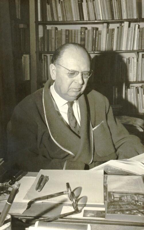 Gaston Waringhien, um 1960