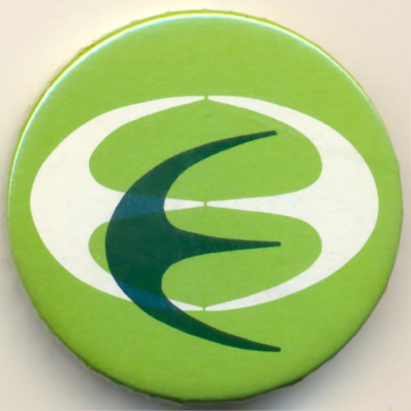 Abzeichen: Esperanto-Jubiläumssymbol