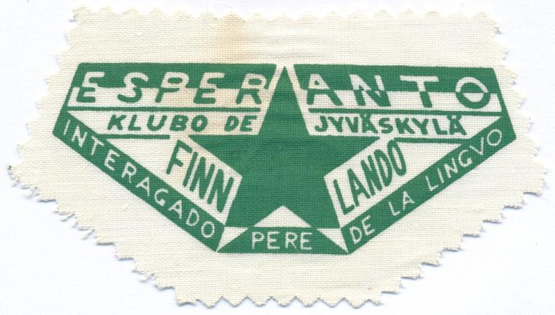 Abzeichen: Esperanto klubo de Jyväskylä