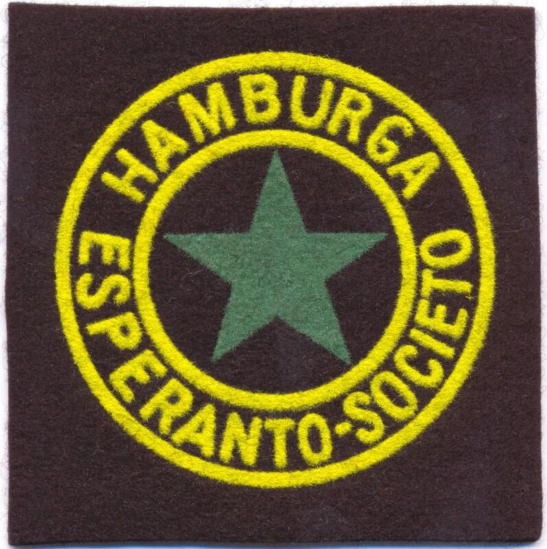 Abzeichen: Hamburga Esperanto-Societo, Hamburg