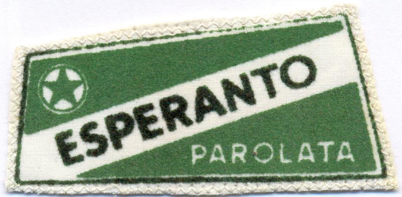 Abzeichen: Esperanto parolata
