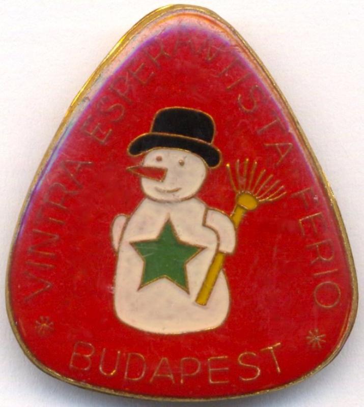 Abzeichen: Vintra Esperantista Ferio, Budapest