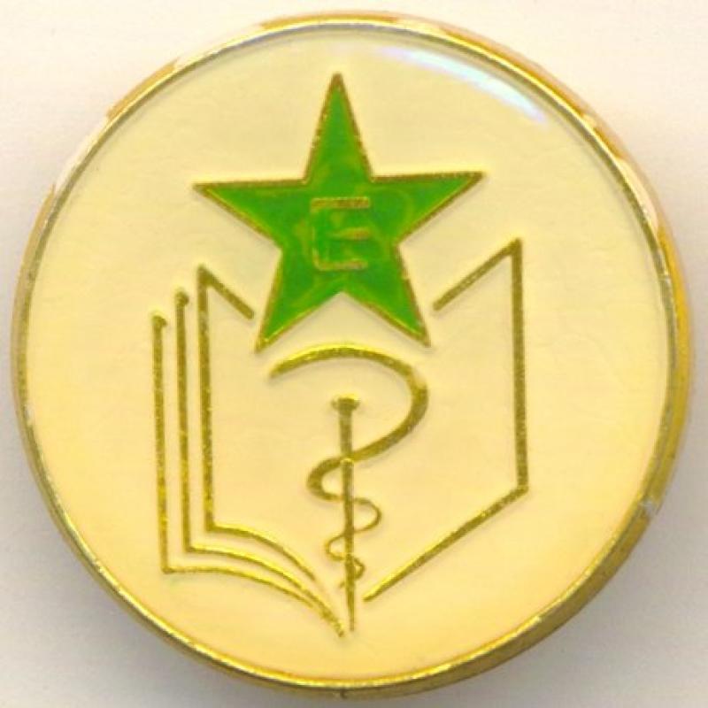 Abzeichen der Esperanto-Mediziner
