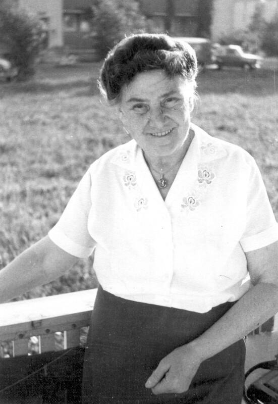 Camilla Starke, um 1960