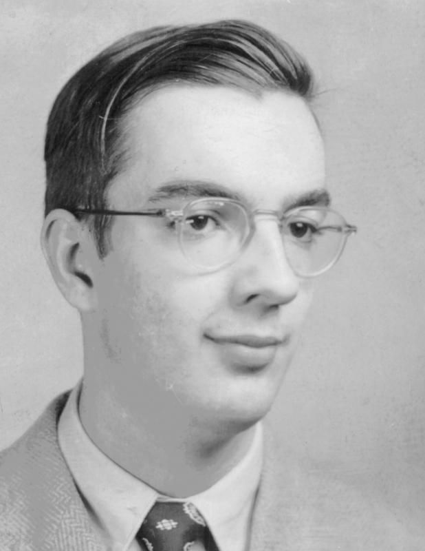 Donald Broadribb, um 1955