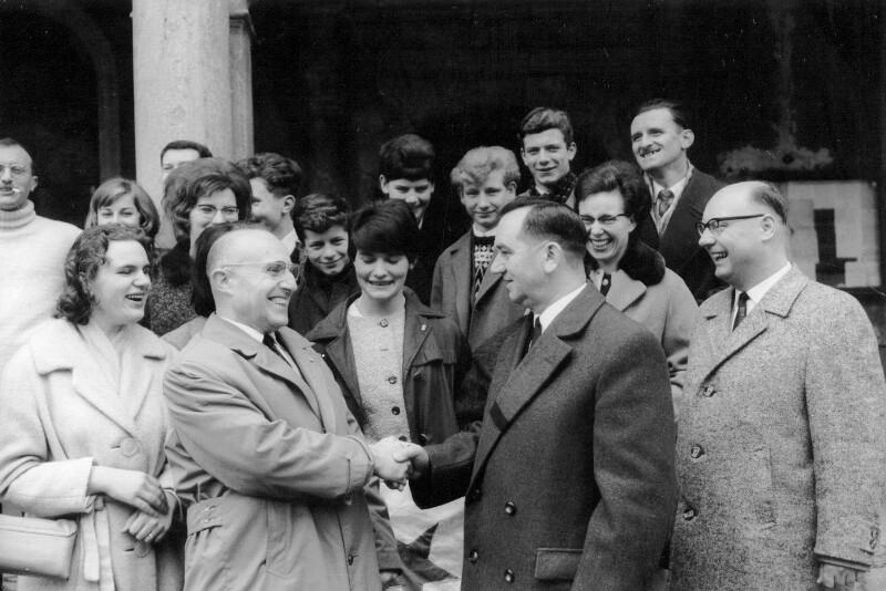 Erstes Treffen der Esperanto-Gruppen Gray und Oberkirch, Gray 1964